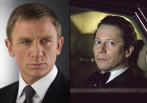 James Bond (Daniel Craig) y Dominic Greene (Mathieu Amalric)