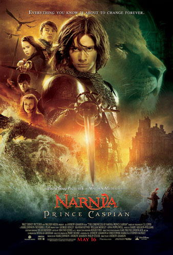 Cartel de The Chronicles of Narnia: Prince Caspian