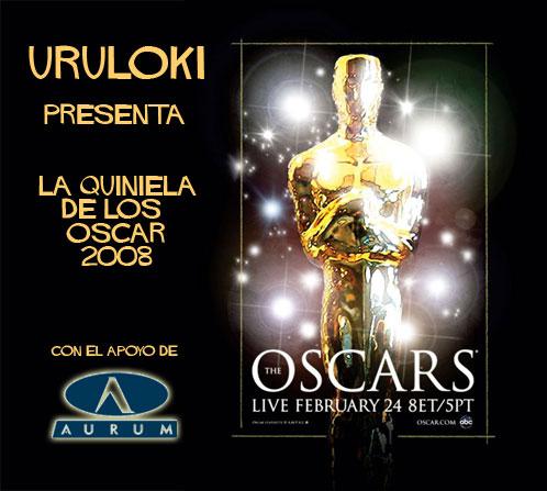 Hacer la quiniela de los Oscar 2008!