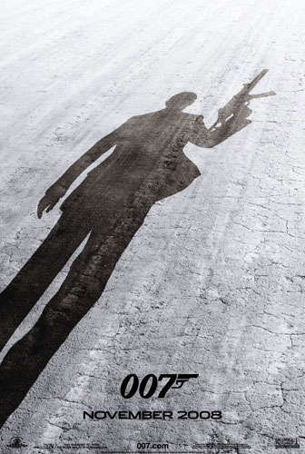 Primer póster de Quantum of Solace