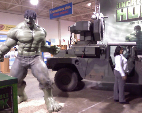 El tamaño del nuevo Hulk si importa