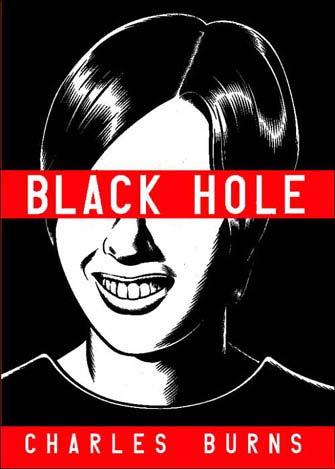 Portada americana de Black Hole