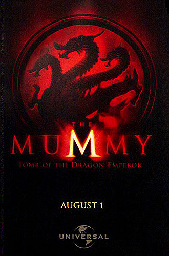 Póster de The Mummy: Tomb of the Dragon Emperor