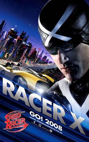 Cartel de Speed Racer 4