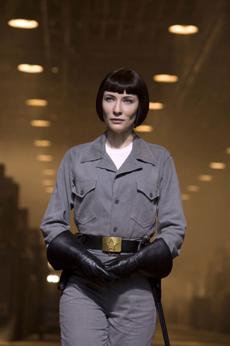 La agente Irina Spalko