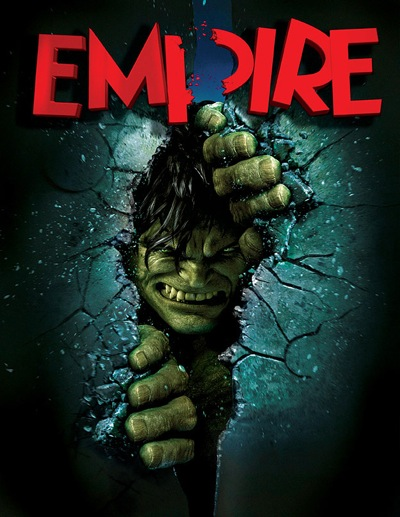 Portada de la revista Empire Magazine para The Incredible Hulk