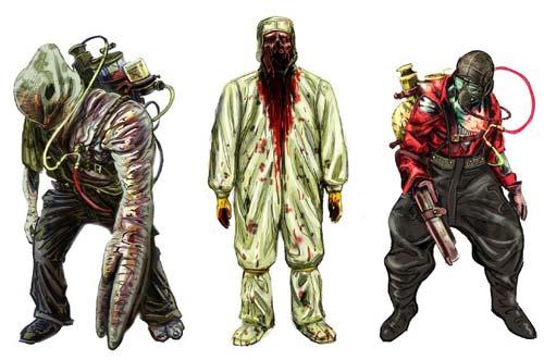 Criaturas diseñadas para BioShock