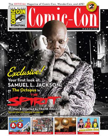 Portada de la Comic-Con Magazine