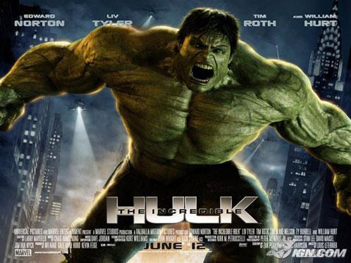 Nuevo póster de The Incredible Hulk