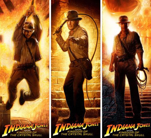 Banner de Cannes para Indiana Jones y el Reino de la Calavera de Cristal
