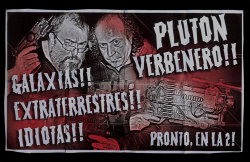 Póster de lo nuevo de Álex de la Iglesia: Plutón Verbenero!