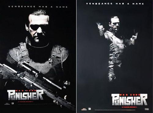 Carteles de Punisher: War Zone