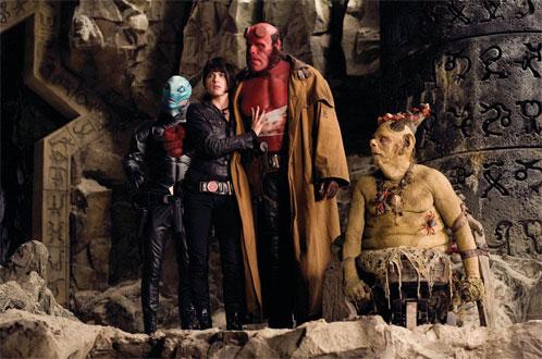 Johann Kraus en Hellboy II: El Ejército Dorado