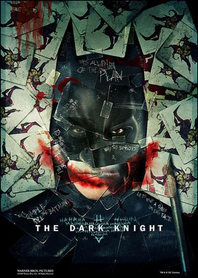 Nuevo póster de The Dark Knight / El caballero oscuro