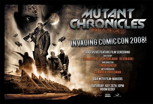 Anuncio oficial de la premiere de The Mutant Chronicles