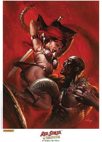 Red Sonja vs. Thulsa Doom
