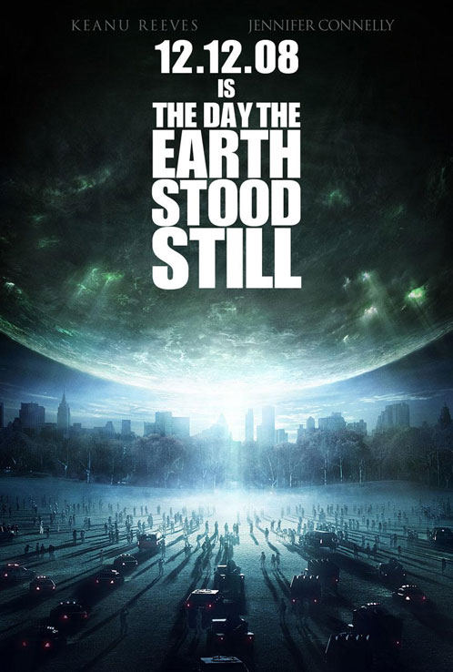 Primer cartel de The Day the Earth Stood Still