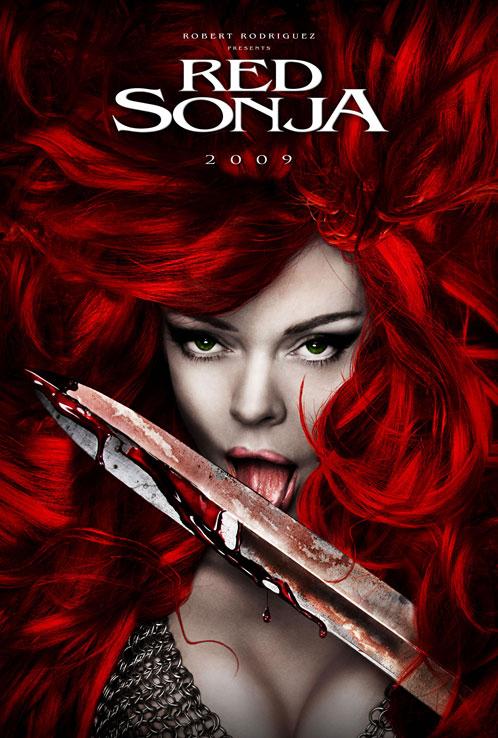 Primer teaser póster de Red Sonja