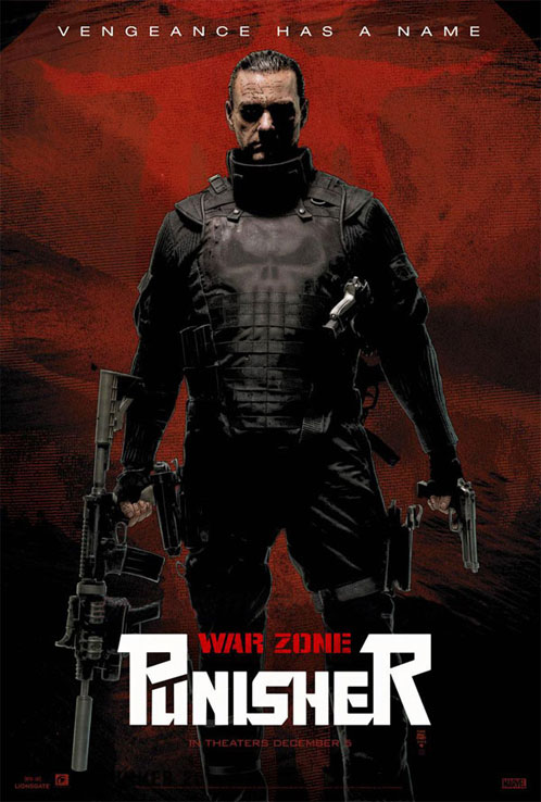 Nuevo cartel de Punisher: War Zone para la Comic-Con de San Diego