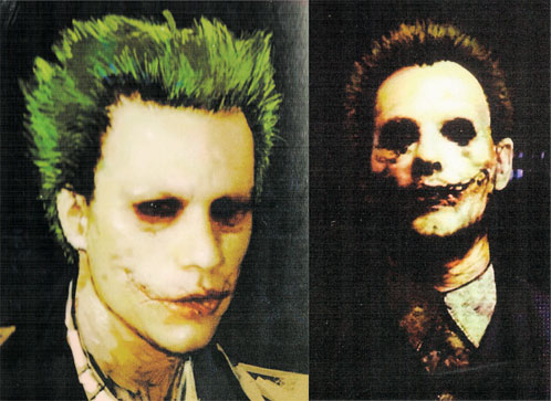 Diseños de posibles Joker...