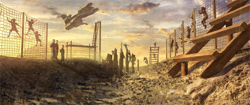 Nuevo detalle de arte conceptual de Halo: Fall of Reach