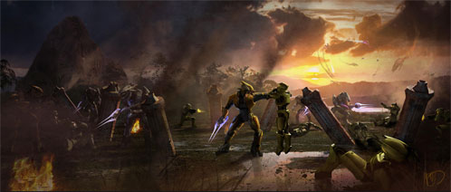 Nuevo arte conceptual de Halo: Fall of Reach