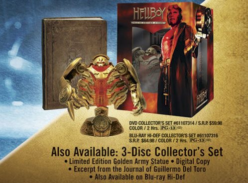 La edición del coleccionista de Hellboy II... mola