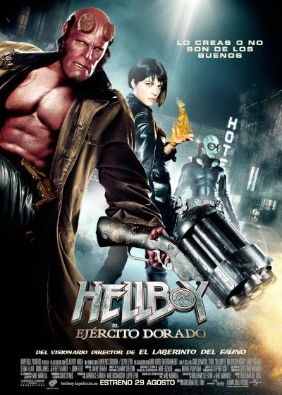 Póster de Hellboy II: El Ejército Dorado