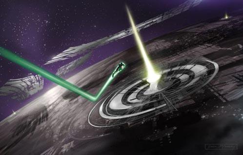 Arte Conceptual de Green Lantern