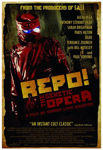 Póster final de Repo! The Genetic Opera