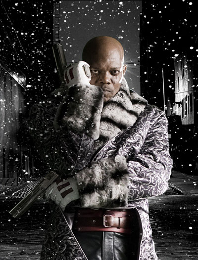 Samuel L. Jackson es The Octopus en The Spirit