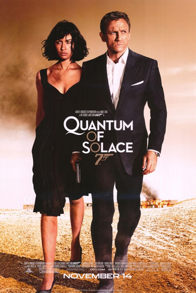 Póster final de Quantum of Solace