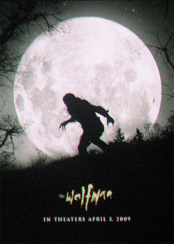 ¿Teaser póster de The Wolfman?