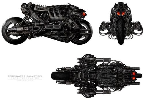 Más detalles de la Moto-Terminator