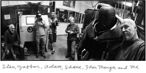 Una de las fotografías de Jeff Bridges, Stan Winston el genio presente