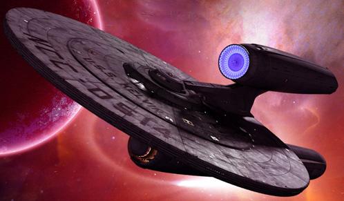 La USS Kelvin de Star Trek