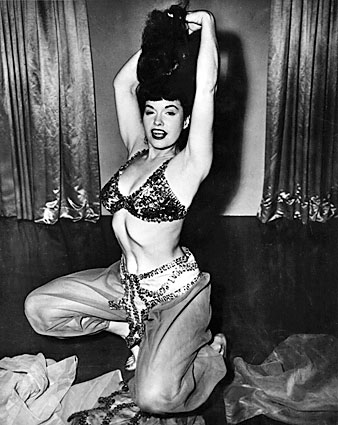 Bettie Page, reina de las pin-ups
