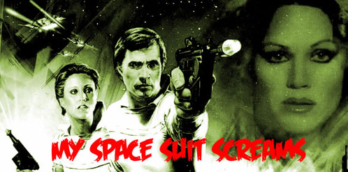 """Buck Rogers, My Space Suit Screams"" por Frank Miller (io9.com)"