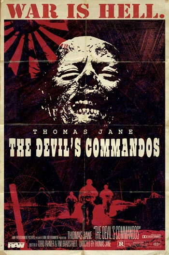 Teaser póster de The Devil's Commandos