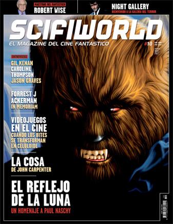 Portada del número 10 de ScifiWorld, el magazine