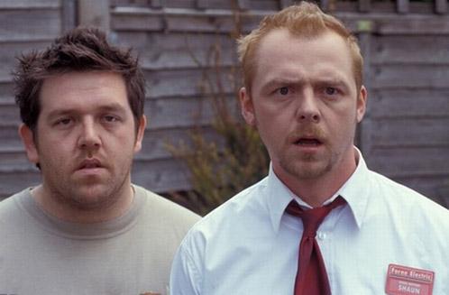 Reacción de Nick Frost y Simon Pegg cuando les indicaron que contaban con ellos