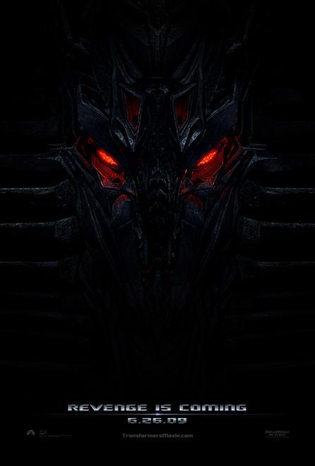 Teaser póster de Transformers: Revenge of the Fallen