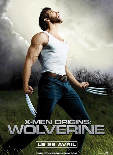 Póster francés de X-Men Origins: Wolverine