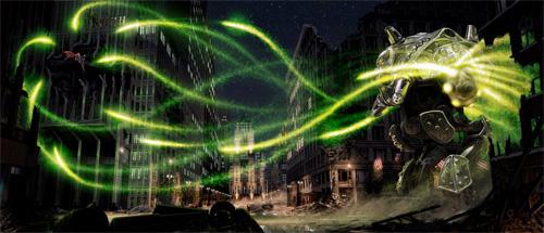 Uno de los trabajos de Philip Saunders para el Superman de J.J. Abrams