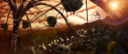 John Carter of Mars. John descubre la incubadora