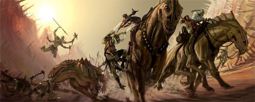 John Carter of Mars. John y Deja contra los Warhoons