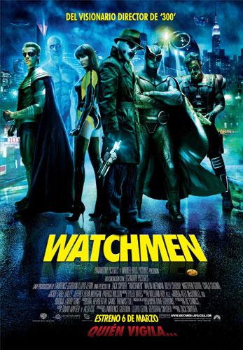 Póster español de Watchmen