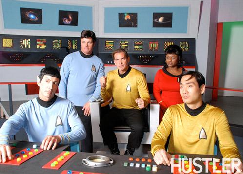 El reparto principal de Star Trek XXX