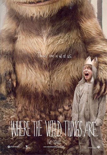 Primer póster de Where the Wild Things Are