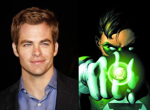 ¿Es Chris Pine el futuro Hal Jordan?